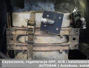 Czyszczenie, regeneracja DPF, SCR i katalizatorów - AUTOSAN | Autobusy, autokary