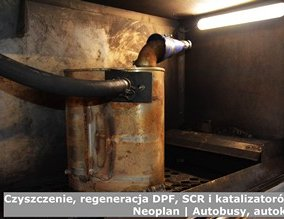 Czyszczenie, regeneracja DPF, SCR i katalizatorów – Neoplan | Autobusy, autokary