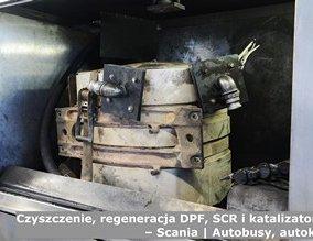 Czyszczenie, regeneracja DPF, SCR i katalizatorów – Scania | Autobusy, autokary
