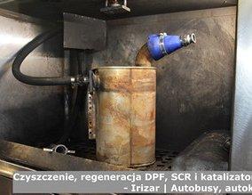 Czyszczenie, regeneracja DPF, SCR i katalizatorów  - Irizar | Autobusy, autokary