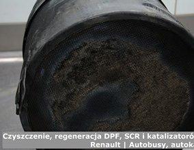 Czyszczenie, regeneracja DPF, SCR i katalizatorów - Renault | Autobusy, autokary