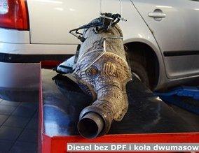 Diesel bez DPF i koła dwumasowego