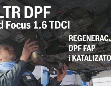 Regeneracja Filtra DPF - Ford Focus 1.6 TDCI ECOnetic 77kW 2013