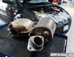DPF a moc silnika