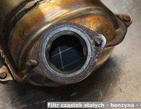 Filtr cząstek stałych - benzyna - GPF