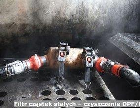 Filtr cząstek stałych – czyszczenie DPF / FAP