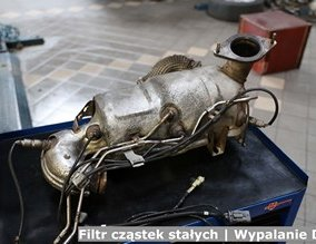 Filtr cząstek stałych | Wypalanie DPF