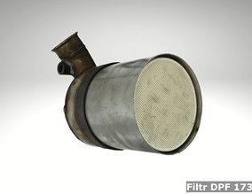 Filtr DPF 1731JT