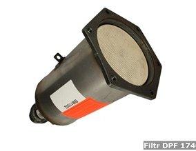 Filtr DPF 174002
