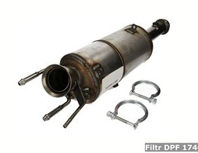 Filtr DPF 174006