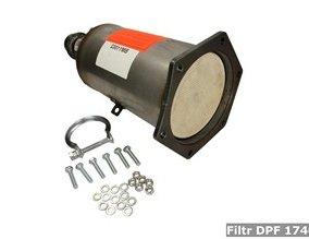 Filtr DPF 174010
