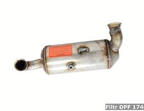 Filtr DPF 174016