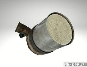 Filtr DPF 174025