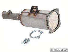 Filtr DPF 174033