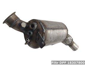 Filtr DPF 18307800704