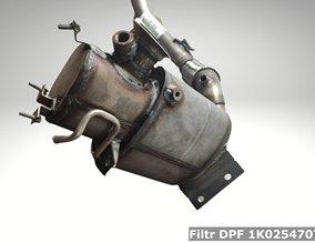 Filtr DPF 1K0254707PX