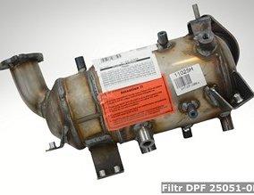 Filtr DPF 25051-0R02