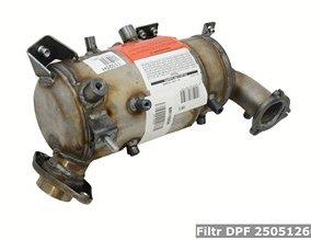 Filtr DPF 2505126031