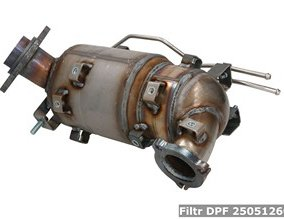 Filtr DPF 2505126040