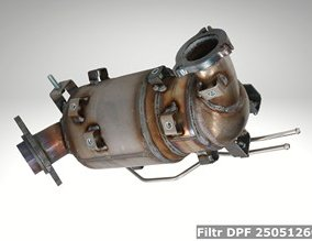Filtr DPF 2505126050