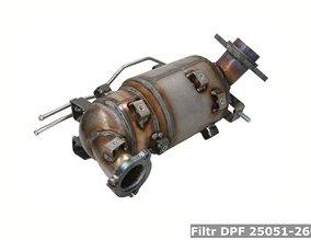 Filtr DPF 25051-26051
