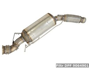 Filtr DPF 9064901581