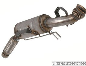 Filtr DPF A9064900100