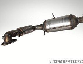 Filtr DPF BK315H270CD