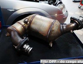 Filtr DPF - do czego służy?