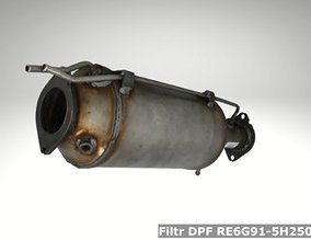 Filtr DPF RE6G91-5H250-BF
