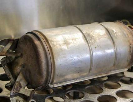 Filtr cząstek stałych - budowa DPF FAP