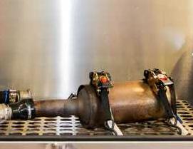 Dopalanie DPF/FAP - czyszczenie pasywne i aktywne katalizatorów