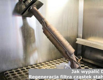 Jak wypalić DPF, czyli regeneracja filtra cząstek stałych