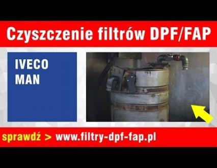 Czyszczenie DPF Iveco i Man Film