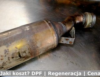 Jaki koszt? DPF | Regeneracja | Cena