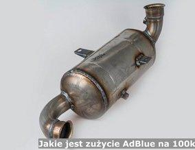 Jakie jest zużycie AdBlue na 100km?