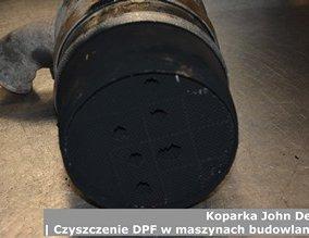 Koparka John Deere | Czyszczenie DPF w maszynach budowlanych