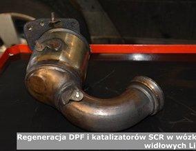 Regeneracja DPF i katalizatorów SCR w wózkach widłowych Linde