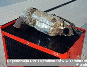Regeneracja DPF i katalizatorów w zamiatarkach Mitsubishi