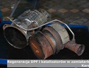 Regeneracja DPF i katalizatorów w zamiatarkach Karcher