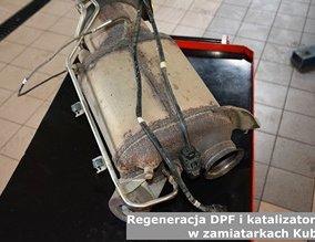 Regeneracja DPF i katalizatorów w zamiatarkach Kubota