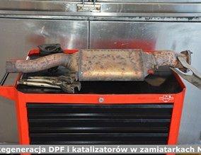 Regeneracja DPF i katalizatorów w zamiatarkach MAN