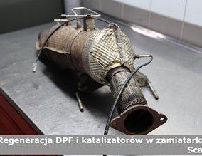 Regeneracja DPF i katalizatorów w zamiatarkach Scania