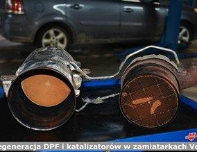 Regeneracja DPF i katalizatorów w zamiatarkach Volvo