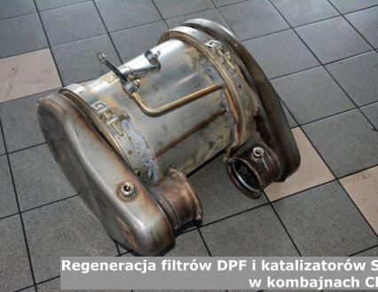 Regeneracja filtrów DPF i katalizatorów SCR w kombajnach Claas