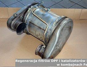 Regeneracja filtrów DPF i katalizatorów SCR w kombajnach Fendt