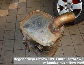 Regeneracja filtrów DPF i katalizatorów SCR w kombajnach New Holland