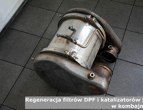 Regeneracja filtrów DPF i katalizatorów SCR w kombajnach
