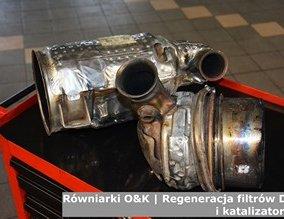 Równiarki O&K | Regeneracja filtrów DPF i katalizatorów