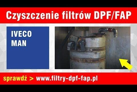 Czyszczenie DPF Iveco oraz MAN
